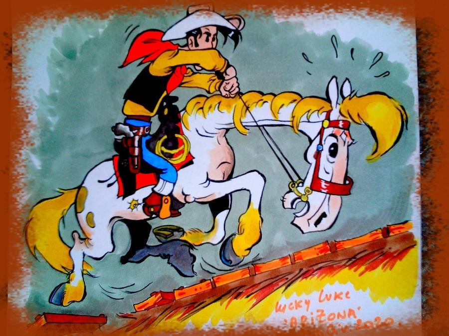 Lucky Luke, Lucky Luke by didgiv